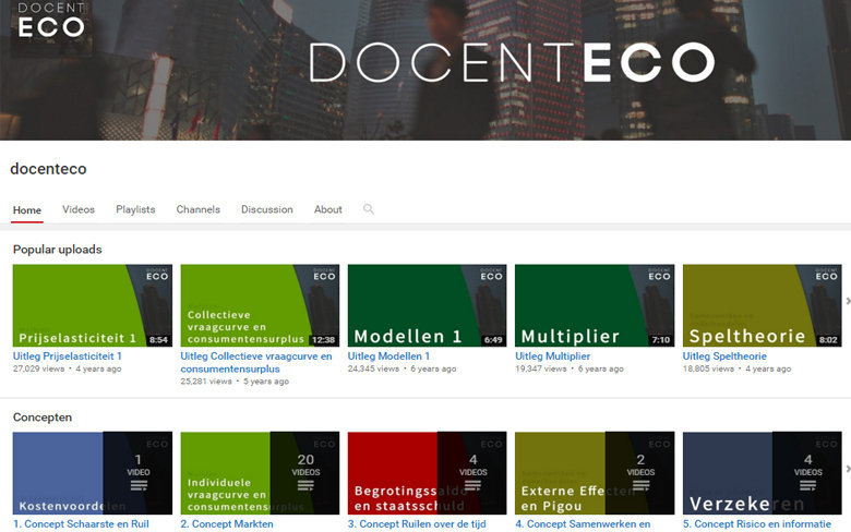 YouTube Docent Eco